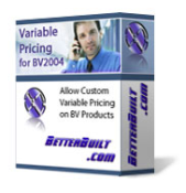 Variable Pricing Product for bv2004